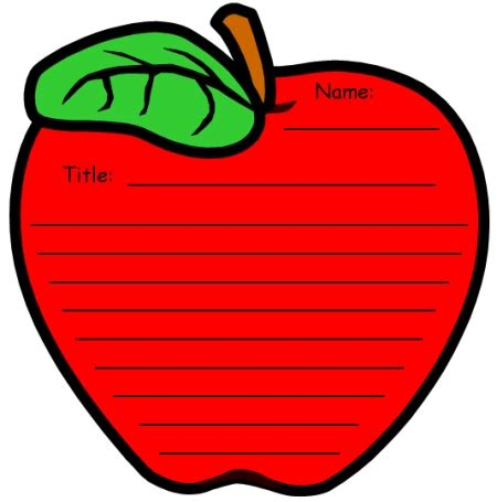 apple pages templates for teachers unique apple writing templates fun back to school