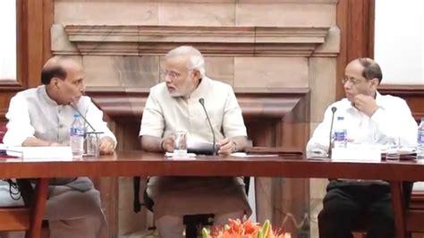 New Cabinet Of Narendra Modi by Pm Shri Narendra Modi Chairs Cabinet Meeting Doovi