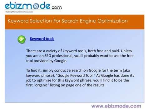 Search Engine Optimization Keywords by 4 Ways To Select Keyword For Search Engine Optimization Seo