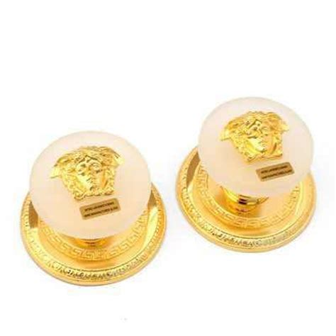 Versace Door Knobs by Versace Gold Medusa Clothes Paired Knobs Et Flair