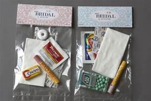 diy we love bridal party survival kit bridalguide