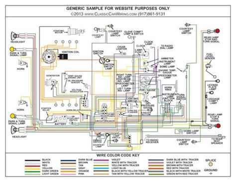 packard  color wiring diagram classiccarwiring