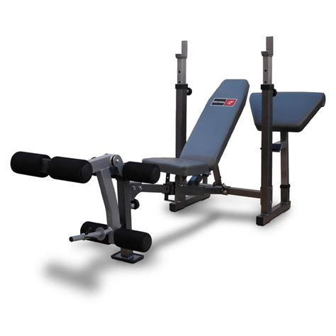 leg developer bench bodyworx c352stb standard weight bench with leg developer