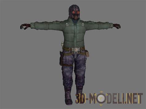 wayne holden 3d модель персонаж wayne holden из 171 lost planet 187