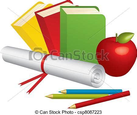 3d supplies vectors of school supplies vector illustration of 3d