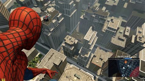 swinging man game the amazing spider man 2 free roam gameplay swinging