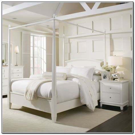 4 Poster Bed White Download Page ? Home Design Ideas