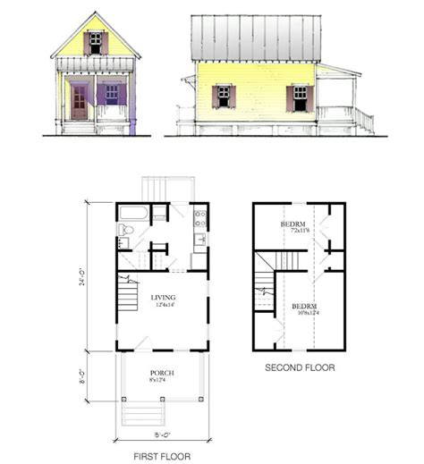 Mother In Law Cottage Plans by The Katrina Cottage Model 675