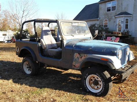 cj jeep wrangler 1979 jeep cj7 with yj wrangler tub project or parts cj