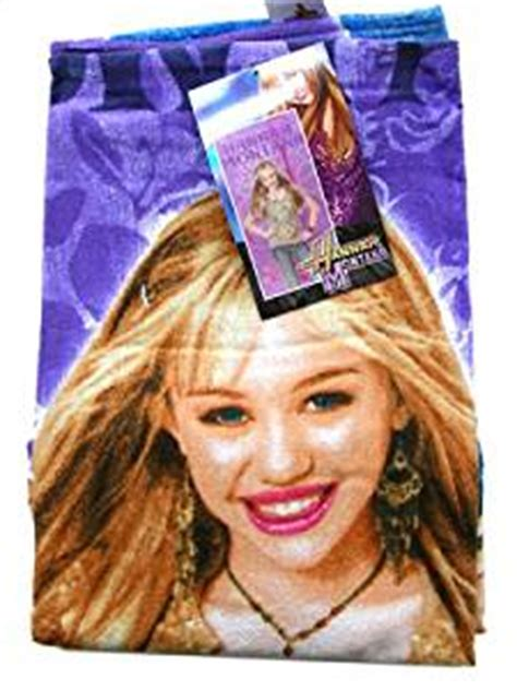hannah montana bathroom amazon com disney hannah montana bath beach towel home