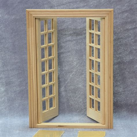 doll house doors diy 1 12 miniature wooden dollhouse door play doll house