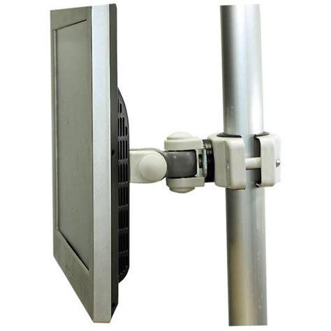 Bracket Braket Breket Tilt Updown Monitor tilt rotate pole mounting bracket for tv hdtv lcd led plasma monitor white