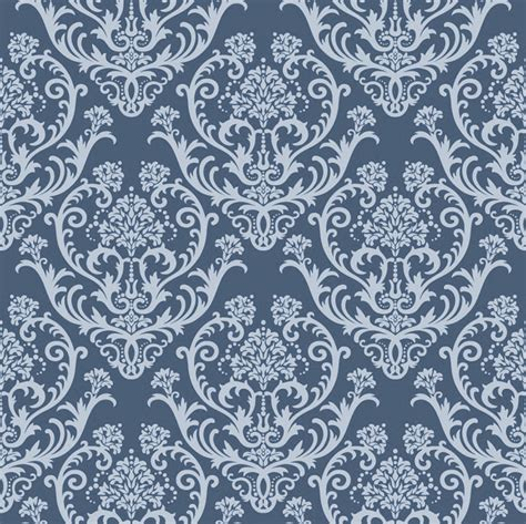 wallpaper pattern vintage blue vintage wallpaper seamless pattern vector seamless