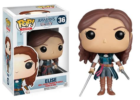 Funko Elise Pop Vinyl 5254 assassins creed pop elise vinyl 9cm