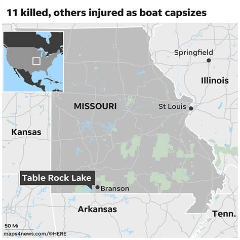tourist boat sinks usa branson missouri duck boat sinks with 31 tourists aboard