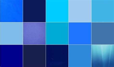 colour shades with names 20 different shades of blue color names 360wango