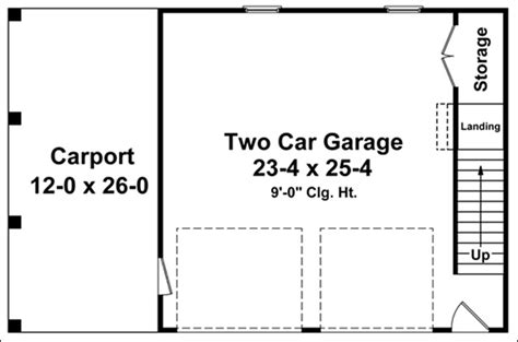 detached garage floor plans easy detached garage floor plans cad pro