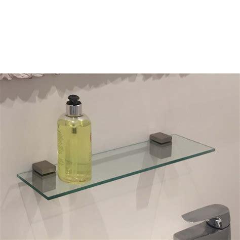 Shelf Kits by Cube Glass Shelf Kit 400x100x6mm Mastershelf