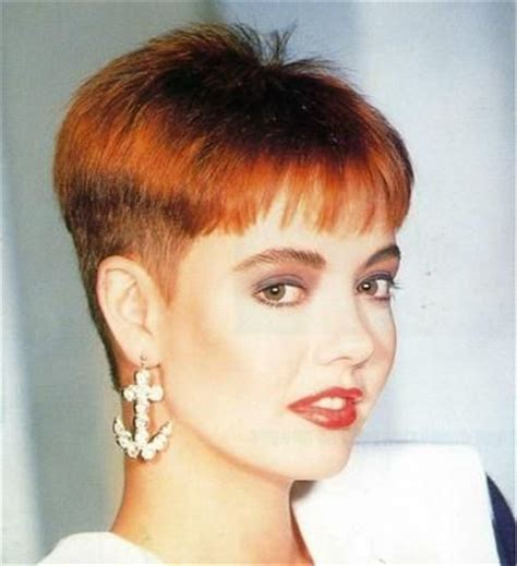 very short hair cut clippered wedge haircut pixies and haircuts on pinterest