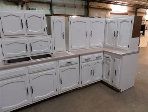 used kitchen furniture used kitchen cabinets what to choose between working and