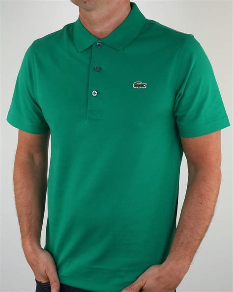 Polo Shirt Locoste lacoste polo shirt woodland green s top