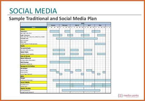 10 Social Media Marketing Plan Exles Pdf Traditional Marketing Plan Template