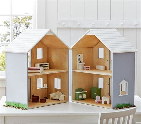 Pottery Barn Kids Doll House 32 Best Dollhouses Minatures Images On Pinterest