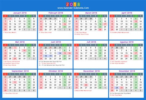 printable calendar 2018 indonesia unique 2018 calendar indonesia print calendar