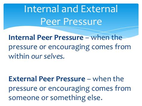 Effects Of Peer Pressure Essay by Peer Pressure Presentation