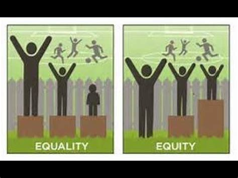 Equality Of Opportunity And Equality Of Outcome Youtube