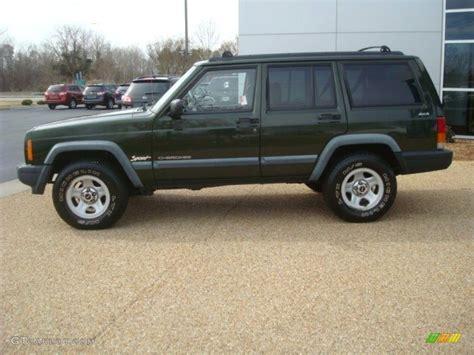 1998 emerald green pearl jeep sport 4x4 52396017 photo 3 gtcarlot car color