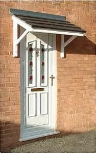 Bow Window Canopies over door canopies