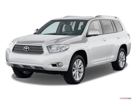 2009 toyota highlander hybrid prices reviews and pictures u s news world report