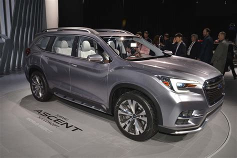 new subaru prices production 2019 subaru ascent will go on sale in 2018