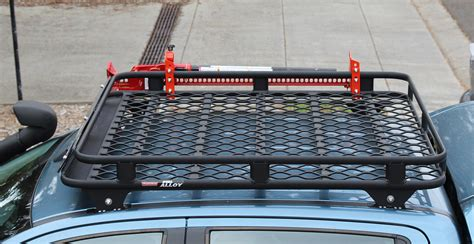 tigerz11 alloy roof rack review tradesman oval alloy roof rack