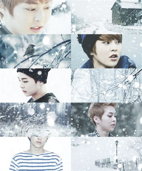 exo winter weather edits snow exo xiumin another reason to