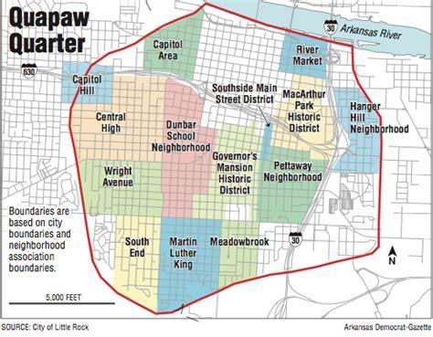 Little Rock's Quapaw Quarter out to define itself