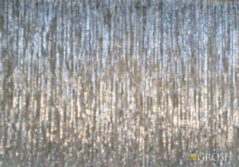 mylar curtain drapes silver rain curtain grosh