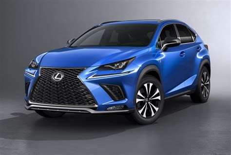 lexus crossover black lexus nx my 2018 il crossover giapponese si rif 224 il look