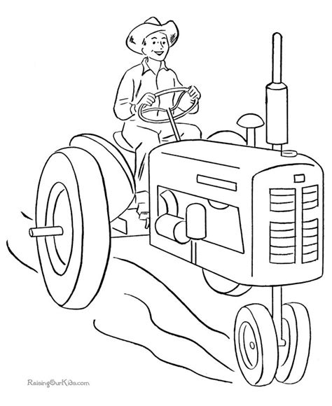 tractor coloring pages pdf 32 best tractors and construction images on pinterest