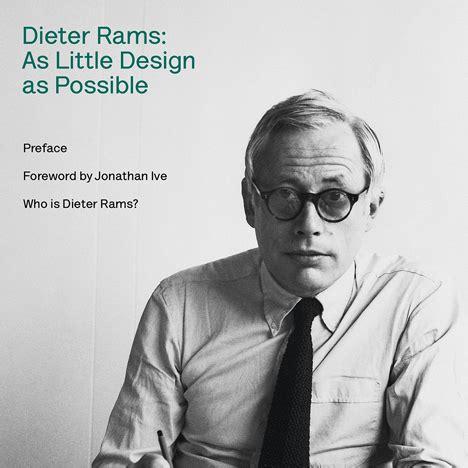 dieter rams as little 0714849189 dieter rams as little design