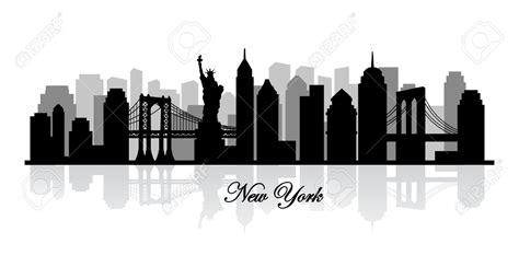 new york skyline clipart clipart collection new york