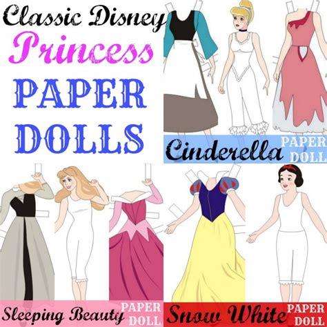 6 Best Images Of Printable Paper Dolls Disney Disney Paper Princess Printable