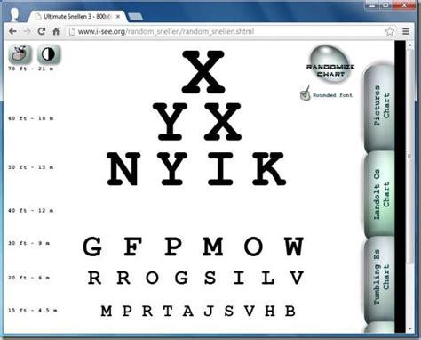 eye chart download free snellen chart for eye test eye best digital eye chart generators for testing visual acuity