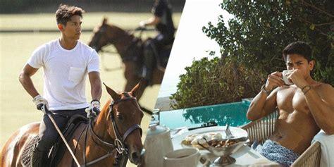 bruneis hothlete prince abdul mateen showbiz gma