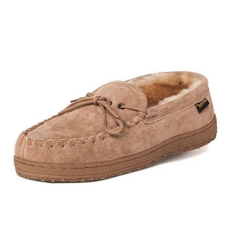mens slippers wide width 4e friend footwear 421208 s sheepskin loafer