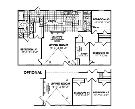 legacy mobile home floor plans legacy mobile home sales in espanola nm manufactured