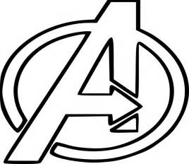 free coloring pages of superhero symbol