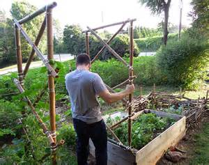 diy bamboo garden arbor this natural dream