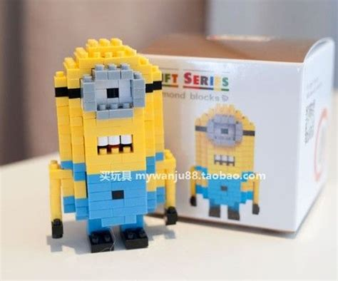 Lego Loz Minion Nano Lego 17 best images about mini lego nano blocks on